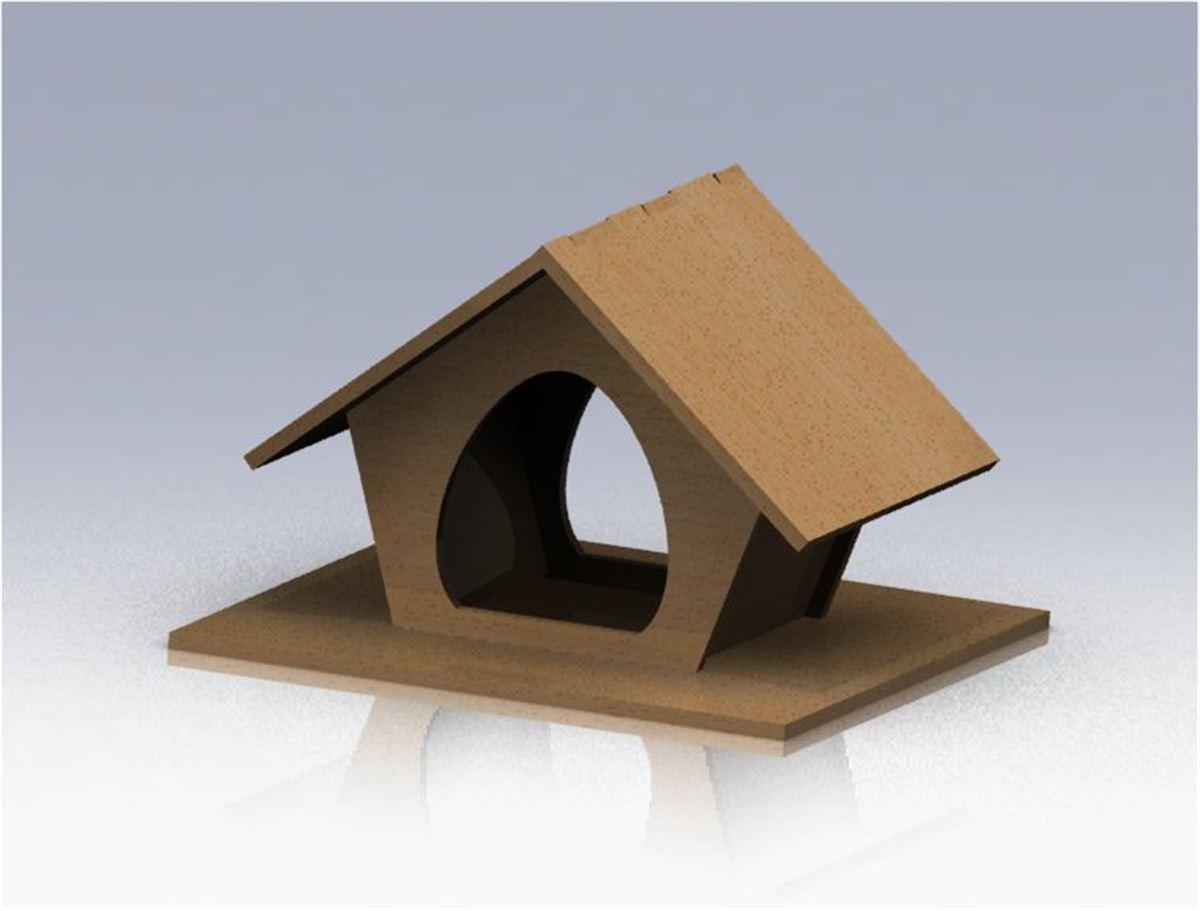 ein vogelhaus f r den balkon bauk sten und. Black Bedroom Furniture Sets. Home Design Ideas
