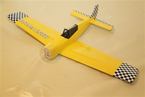 Bauplan Meteor Modellbauplan Aircombat Flugmodell